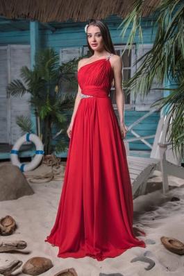 Вечернее платье 09 красный