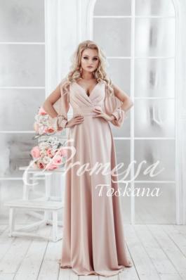 Свадебное платье Тоскана, каппучино